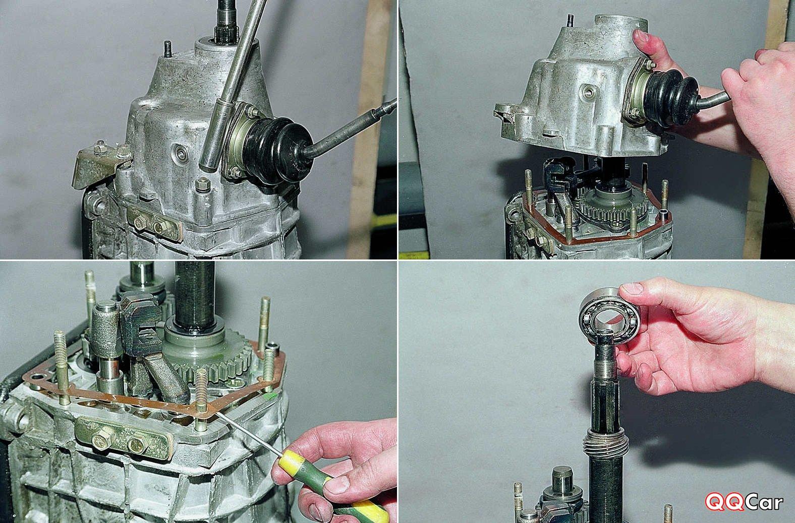 Ремонт коробки передач ваз 2107 - разборка и сборка
