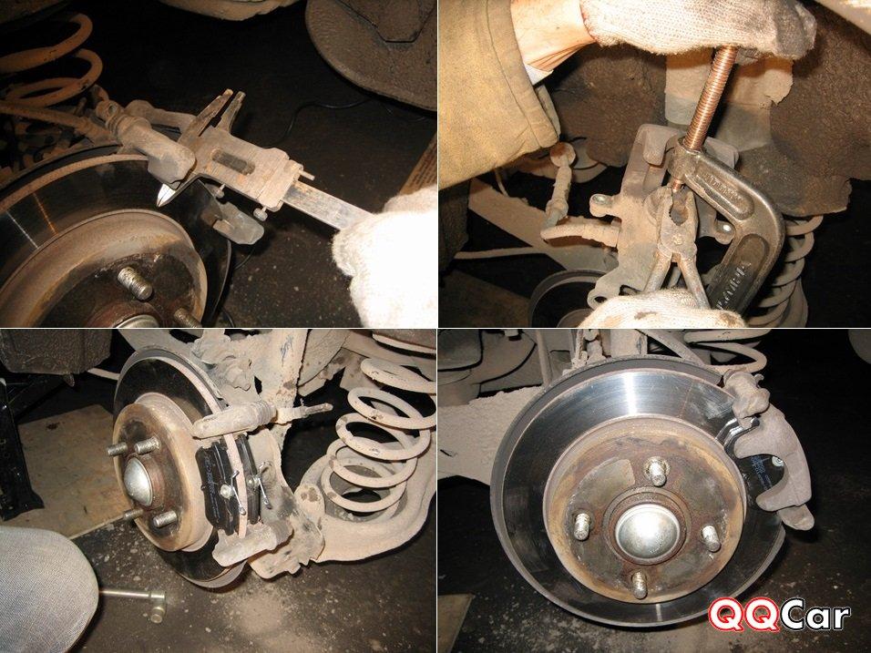 Замена тормозных колодок на форд фокус 3 своими руками 81