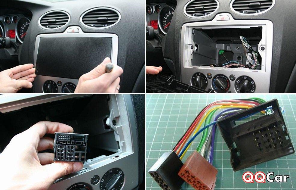 Установка магнитолы своими руками в форд фокус 2