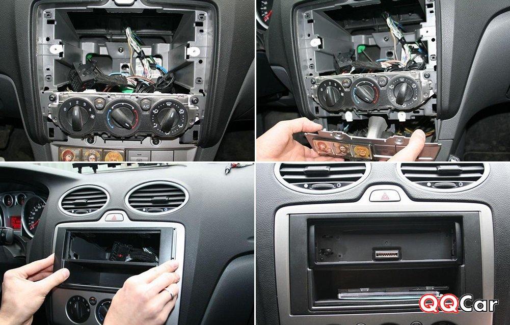 Установка магнитолы в Форд