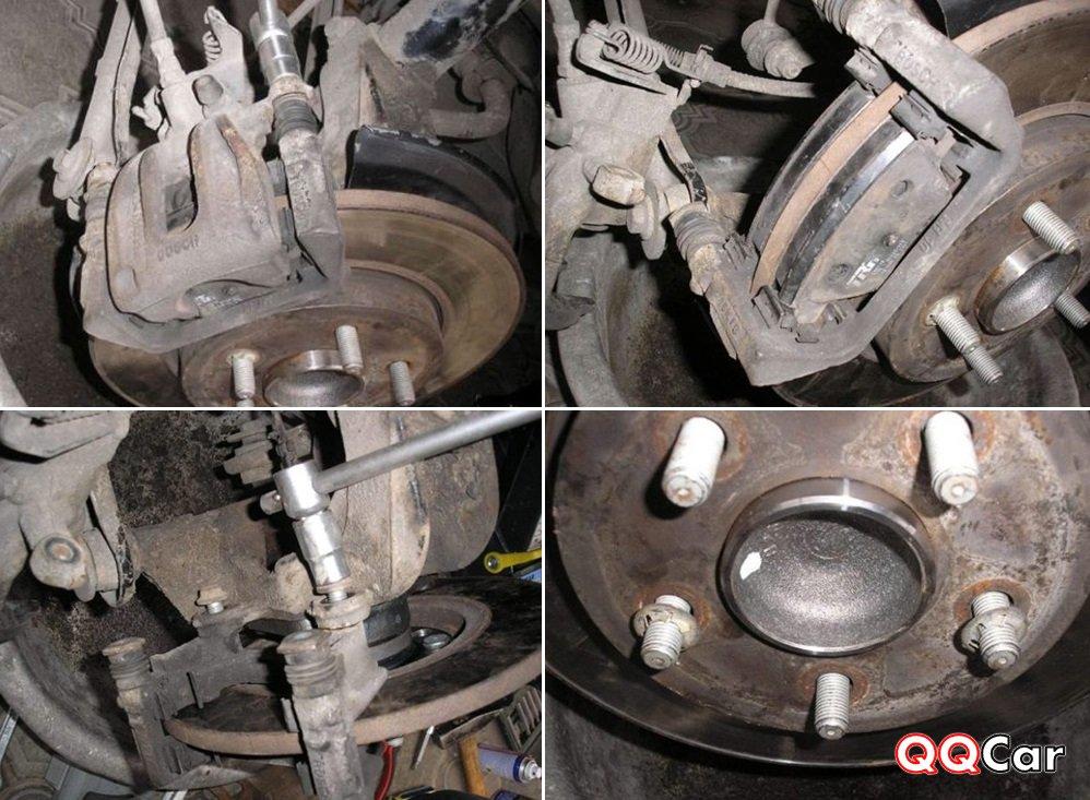 Замена подшипника ступицы mondeo Замена рулевой трапеции инфинити qx80