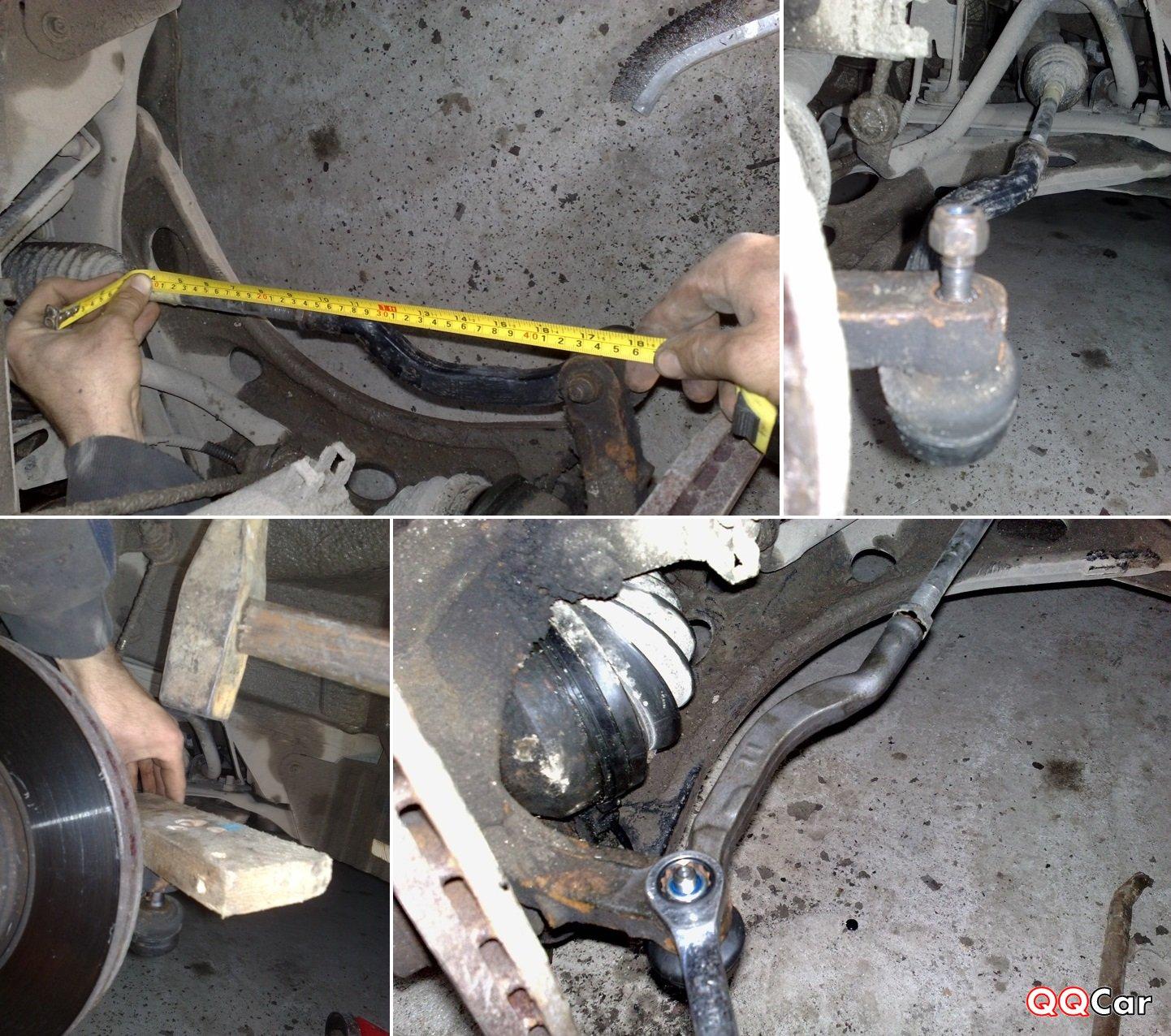 Замена рулевых тяг 2107 своими руками 956