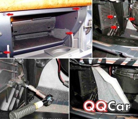 Замена салонного фильтра Opel Astra H бортжурнал Opel Astra